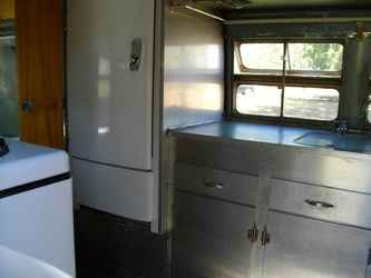 1951 Silver Streak Clipper Kitchen