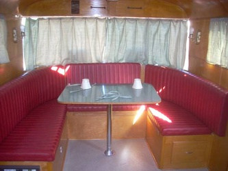 1946 Spartan Manor front dinette