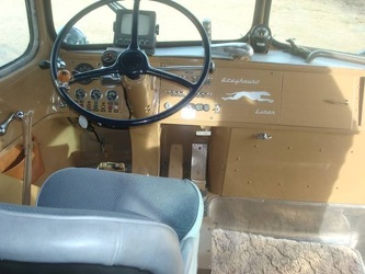 1947 Greyhound Front Driver Seat