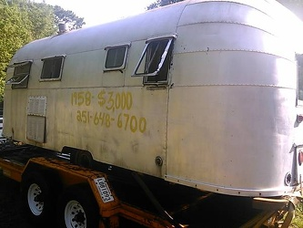 1953 Airstream Flying Cloud Driver Side