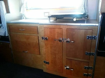 1954 Chris Craft Kitchen