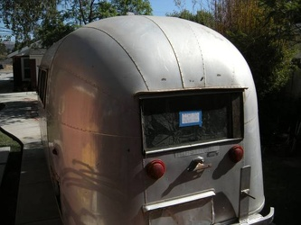 1958 Airstream Pacer Rear