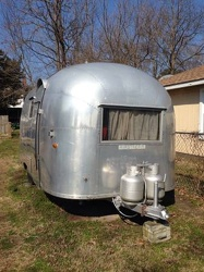 1959 Airstream Globetrotter Front