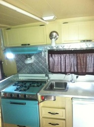 1966 Aristocrat Kitchen