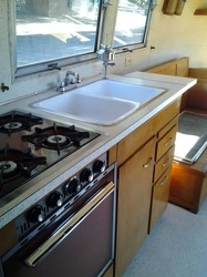 1959 Airstream Tradewind Kitchen