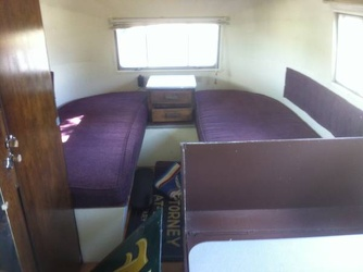 1954 Airstream Safari Beds