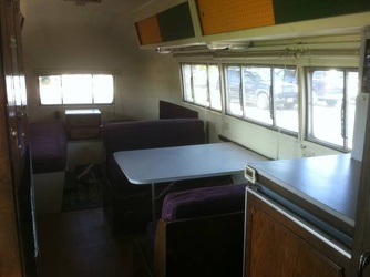 1954 Airstream Safari Dinette