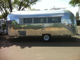 1954 Airstream Safari Driver Side