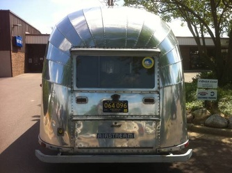1954 Airstream Safari Rear