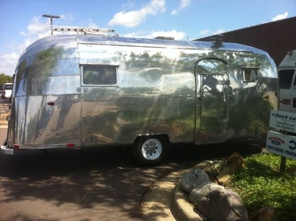 1954 Airstream Safari Passenger Side