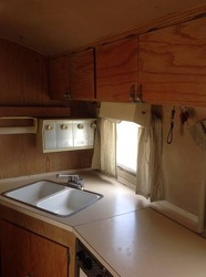 1962 Airstream Tradewind Kitchen