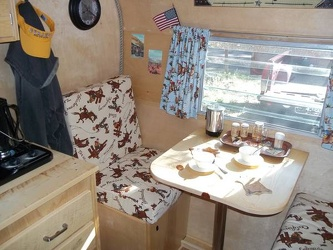 1961 Shasta Compact Dinette
