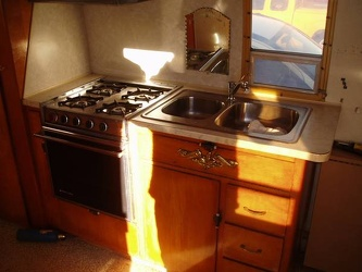 1969 Avion Kitchen