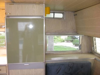 1967 Aristocrat Lo-Liner Fridge