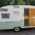 1961 Shasta Airflyte Entrance 3
