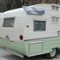 1961 Shasta Airflyte Rear
