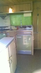 1968 Aristocrat Land Commander Kitchen