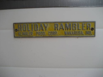1963 Holiday Rambler Emblem