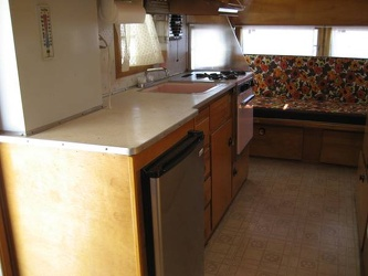 1963 Holiday Rambler Kitchen 2