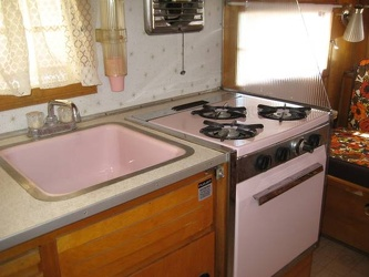 1963 Holiday Rambler Kitchen