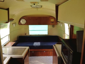 1966 Airstream Overlander Interior Front