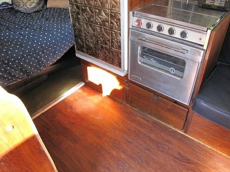 1955 Airstream Kitchen