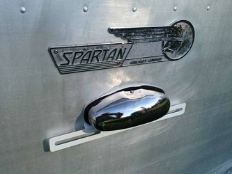 1955 Spartan Imperial Mansion Emblem