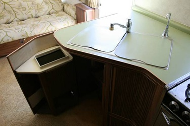 1977 Airstream Overlander Kitchen 2