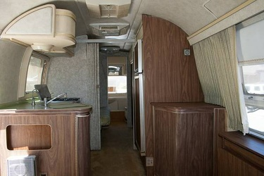 1977 Airstream Overlander Kitchen