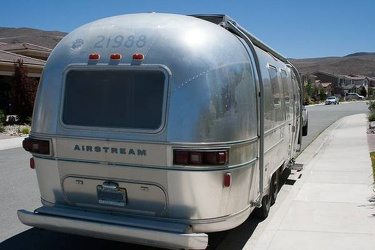 1977 Airstream Overlander Rear