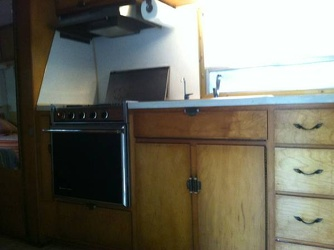 1969 Avion Interior Kitchen 3