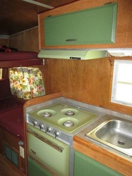1969 Shasta LoFlyte Kitchen