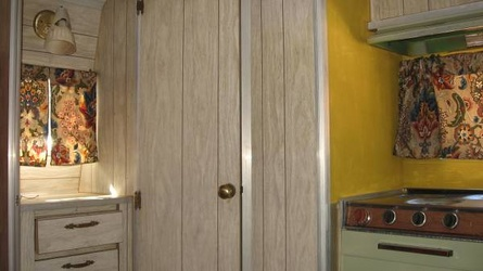 1968 Aristocrat Lo-Liner Bathroom Door