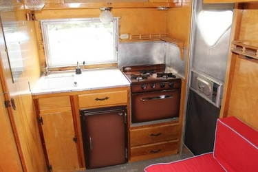 1962 Mobile Scout Kitchen