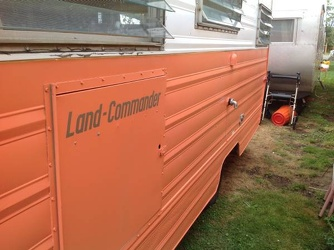 1967 Aristocrat Land Commander Access Panel
