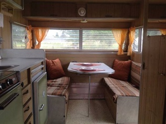 1967 Aristocrat Land Commander Dinette