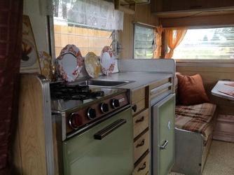 1967 Aristocrat Land Commander Kitchen