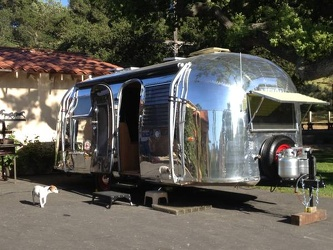 1963 Airstream Safari Entrance