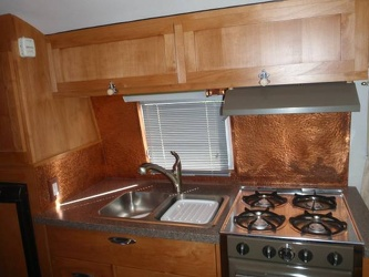 1963 Airstream Safari Kitchen