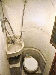 1968 Avion C-11 Bathroom