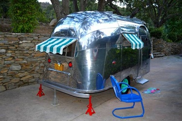 1957 Airstream Bubble Passenger Side