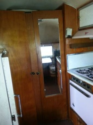 1954 Airstream Land Yacht Kitchen 3