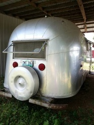 1954 Airstream Land Yacht Rear
