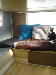 1972 Shasta Compact Bed