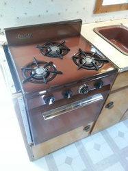 1963 Holiday Rambler Stove