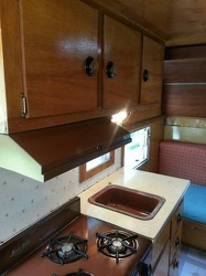 1963 Holiday Rambler Kitchen 4