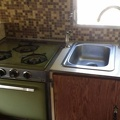 1968 Shasta Loflyte Kitchen