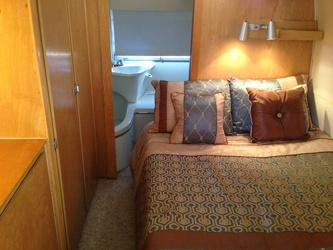 1966 Airstream Overlander Bedroom