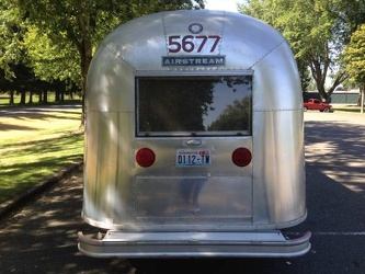 1966 Airstream Overlander Rear 2