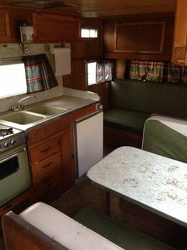 1969 Roadrunner 17' Kitchen